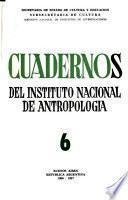 Cuadernos del Instituto Nacional de Antropología