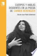 Cuerpos y hablas disidentes en la poesía de Carmen Berenguer