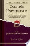 Cuestión Universitaria