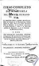 Curso Completo de Anatomía del Cuerpo Humano: Esplanología. Anatomía práctica