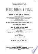 Curso elemental de higiene privada y pública