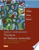 Daniels & Worthingam : técnicas de balance muscular : técnicas de exploración manual y pruebas funcionales