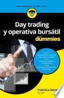 Day trading y operativa bursátil para Dummies