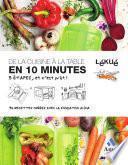 De la cuisine a la table en 10 minutes