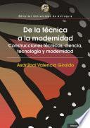 De la técnica a la modernidad