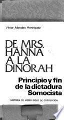 De Mrs. Hanna a la Dinorah