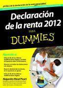 Declaración de la Renta 2012 para Dummies