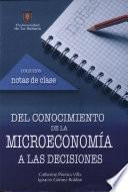Del conocimiento de la microeconomía a las decisiones