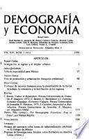 Demografía y economía