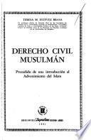 Derecho civil musulmán