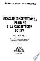 Derecho constitucional peruano y la Constitución de 1979