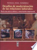 Desafíos de modernización de las relaciones laborales
