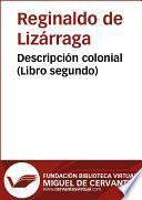Descripción colonial (libro segundo)