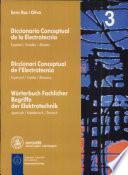 Diccionari conceptual de l'electrotècnia