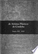 Diccionario de artistas plásticos de Córdoba
