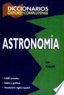 Diccionario de astronomía