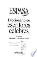 Diccionario de escritores célebres