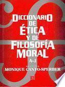 Diccionario de ética y de filosofía moral