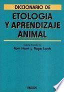 Diccionario de etología y aprendizaje animal