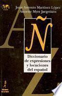 Diccionario de expresiones y locuciones del español