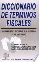 Diccionario de Términos Fiscales