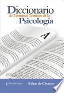 DICCIONARIO DE TERMINOS TECNICOS DE LA PSICOLOGIA