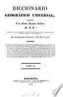 Diccionario geográfico universal, por una sociedad de literatos, S.B.M.F.C.L.D.