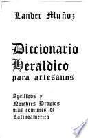 Diccionario heráldico para artesanos