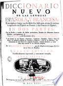 Diccionario nuevo de las lenguas española y francesa ..., 1