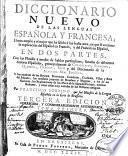 Diccionario nuevo de las lenguas española y francesca ...