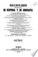 Diccionario universal de Historia y de Geografía