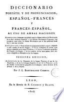 Dictionnaire portatif et de pronunciation espagnol-français et français-espagnol a l'usage des deux nations, 2
