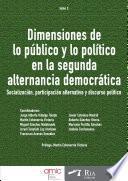 Dimensiones de lo público y lo político en la segunda alternancia democrática