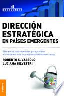 Dirección estratégica en países emergentes