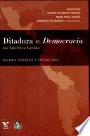 Ditadura e democracia na América Latina