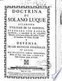 Doctrina de Solano Luque