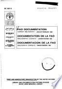 Documentación de la FAO.