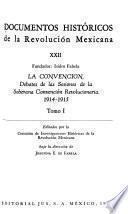 Documentos históricos de la Revolución Mexicana