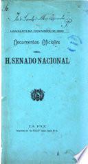 Documentos oficiales del H. Senado Nacional