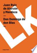 Don Domingo de don Blas