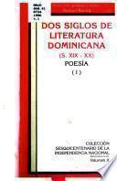 Dos siglos de literatura dominicana: Poesía