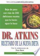 Dr. Atkins recetario de la nueva dieta