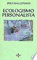 Ecologismo personalista