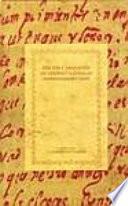 Edición y anotación de textos coloniales hispanoamericanos