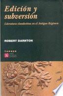 Edicion y subversion/ Editing and Subversion