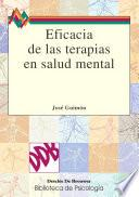 Eficacia de las terapias en salud mental