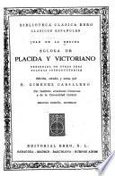 Égloga de Plácida y Victoriano