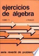 Ejercicios de álgebra