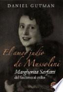 El amor judío de Mussolini