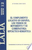 El complemento locativo en español